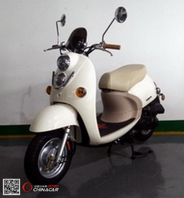 ZY50QT-35型战雅牌两轮轻便摩托车图片1