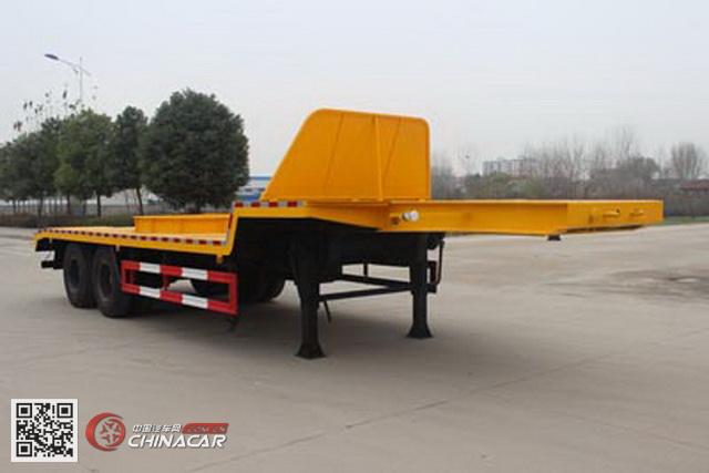 SCS9350TTS型润知星牌铁水运输半挂车图片1