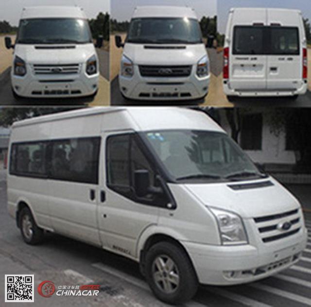 江铃全顺牌JX6581T-M4型轻型客车图片2