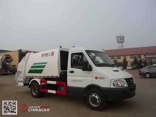 亚特重工牌TZ5044ZYS型压缩式垃圾车