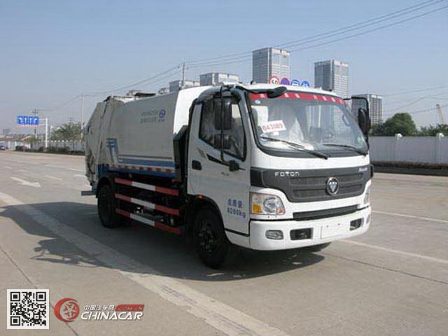 KR5080ZYS4型九通牌压缩式垃圾车图片1