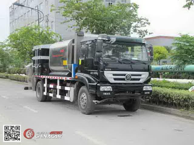 LMT5168TFCW型浙通牌纤维同步封层车图片1