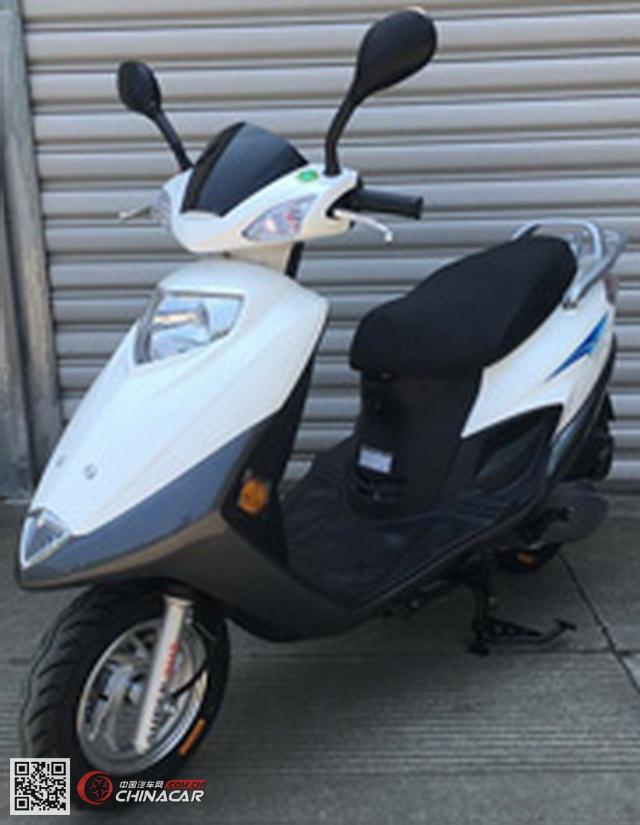 铃田牌lt125t-2u型两轮摩托车图片