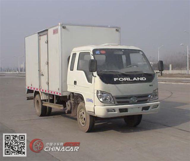 福田牌BJ5043V9CEA-D型厢式运输车图片