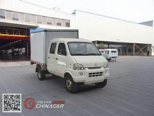 南骏牌CNJ5030XXYRS28M1型厢式运输车图片