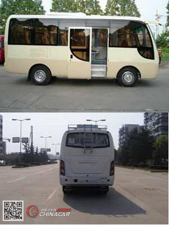 HQG6603EA4型楚风牌客车图片2
