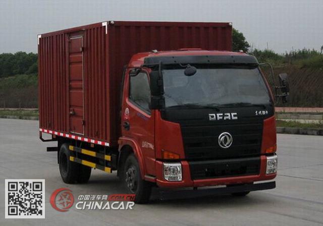 东风牌EQ5080XXY4AC型厢式运输车图片