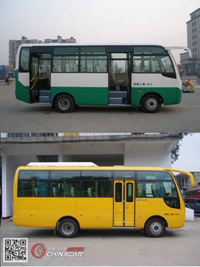 HQG6660EN5型楚风牌城市客车图片2