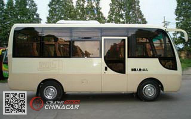 HQG6660EN5型楚风牌城市客车图片3