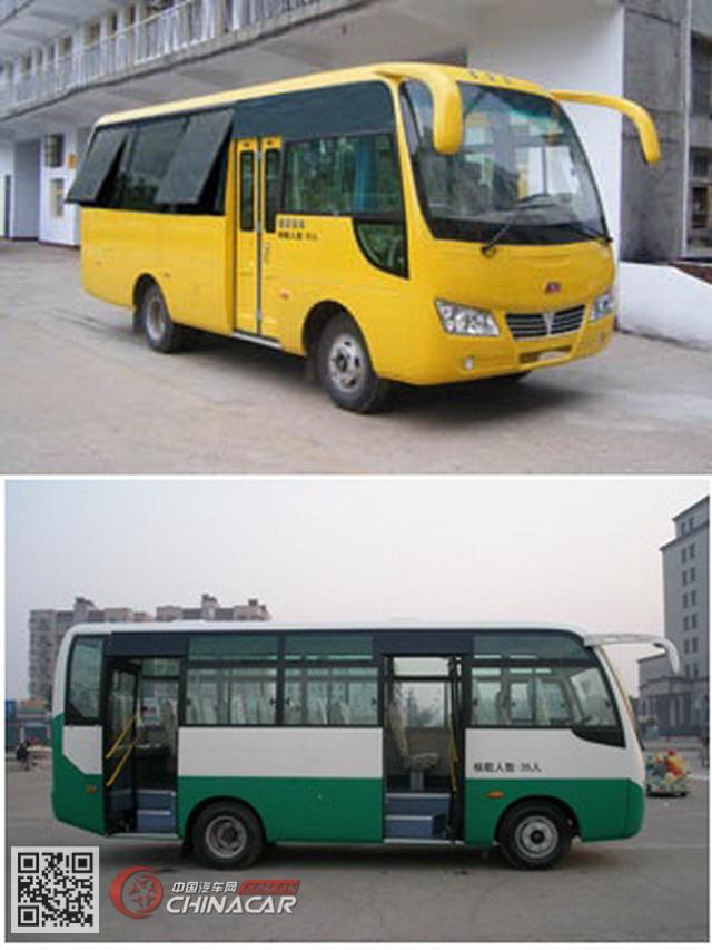 HQG6661EA4型楚风牌城市客车图片3