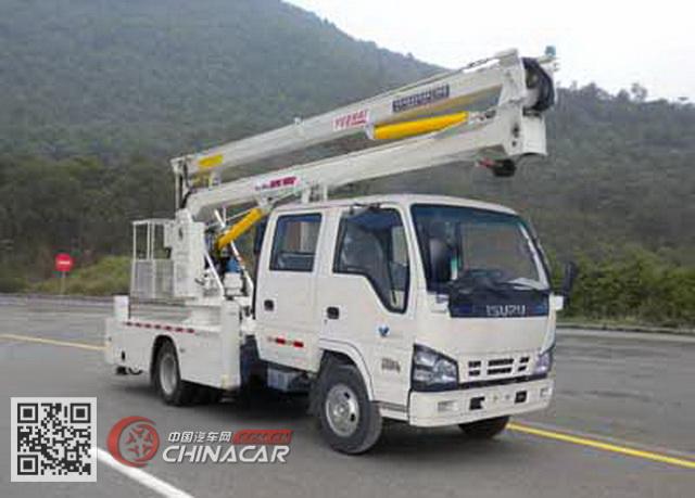 粤海牌YH5060JGK024型高空作业车