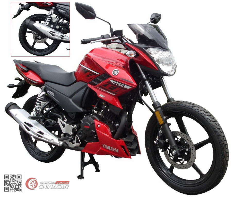 建设-雅马哈牌JYM150-5型两轮摩托车图片