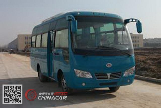 楚风牌HQG6661ENG5型客车图片1