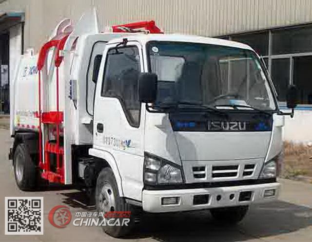 徐工牌XZJ5072ZYSQ4型压缩式垃圾车