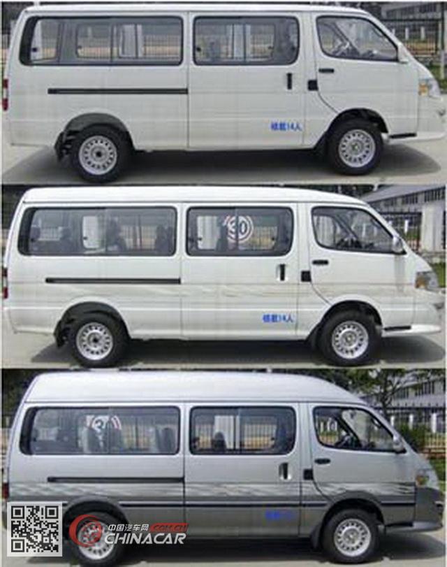XMQ6530AEG5D型金龙牌轻型客车图片2