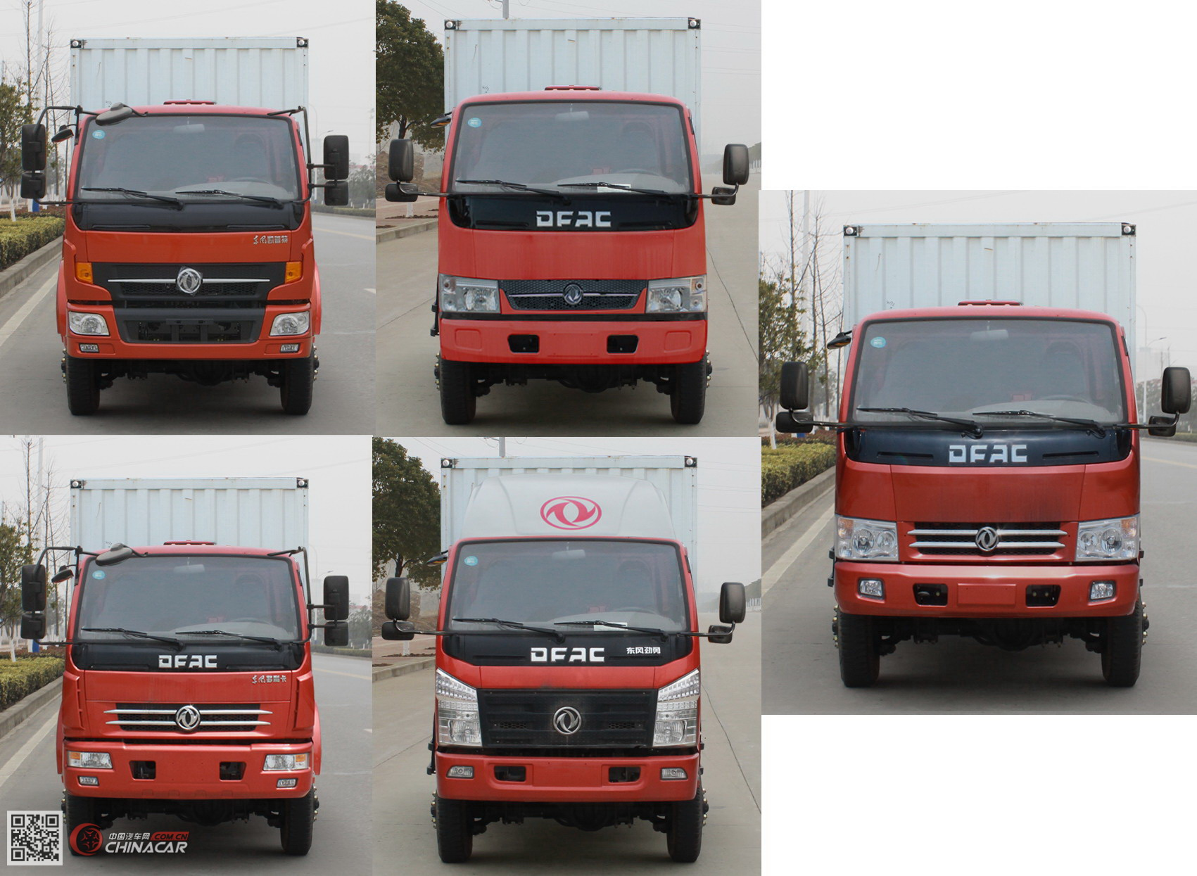 EQ2040XXY2BDFAC型东风牌越野厢式运输车图片2