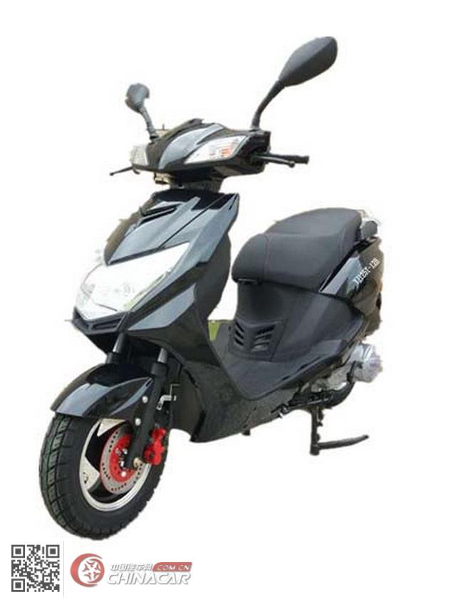 跃进牌YJ125T-12B型两轮摩托车图片