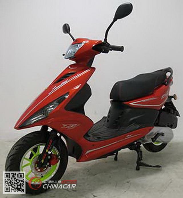 豪达hd125t-11a型两轮摩托车