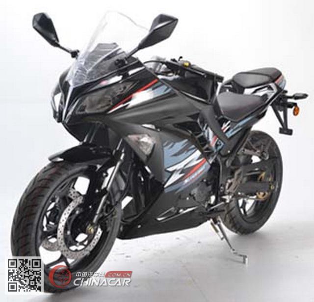 跃进牌YJ150-4B型两轮摩托车图片