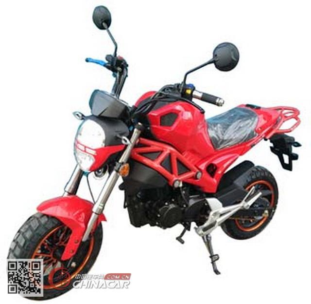 跃进牌YJ150-3B型两轮摩托车图片