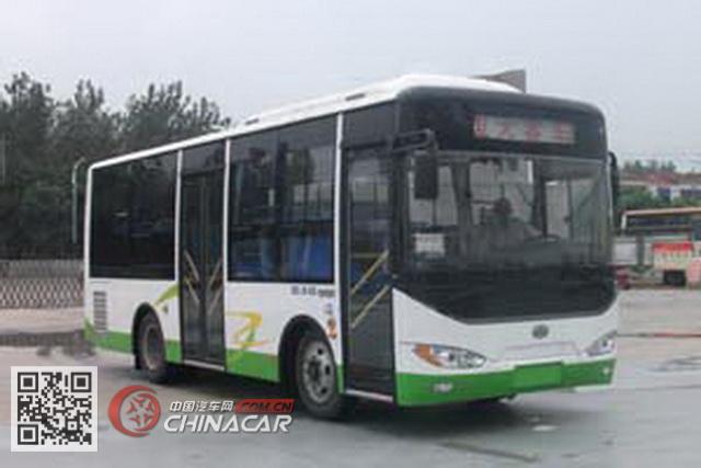 楚风牌HQG6850HEV型插电式混合动力城市客车图片1