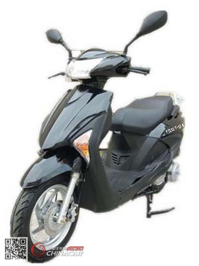跃进牌YJ125T-13B型两轮摩托车图片