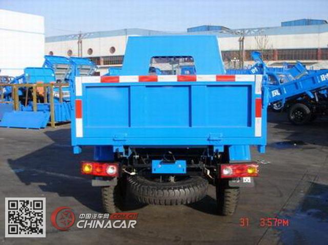 时风牌SF1710PD62型自卸低速货车图片