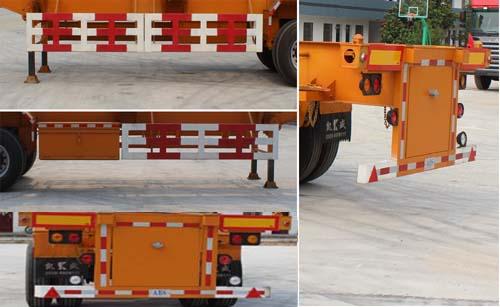 凯烁牌KSQ9400TJZG集装箱运输半挂车图片2