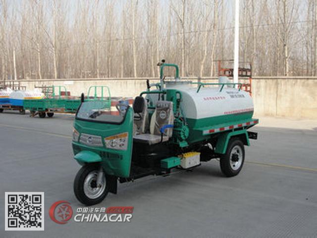 7YP-11100GXE1型奔马牌罐式三轮汽车图片1