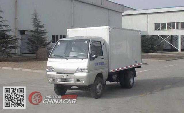 BJ2310X10型北京牌厢式低速货车图片1