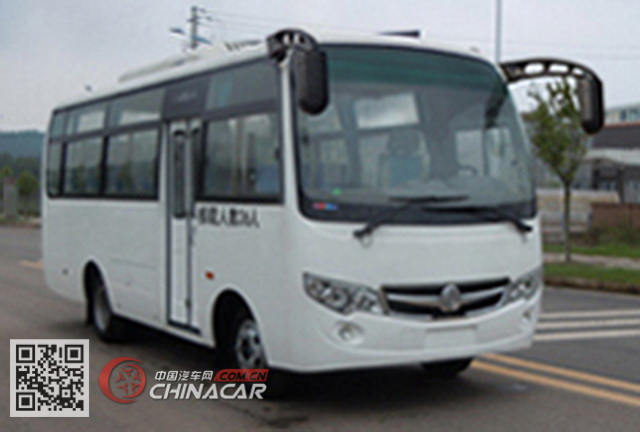 嘉龙牌DNC6665PC型客车图片1