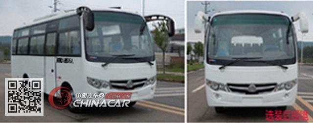 嘉龙牌DNC6665PC型客车图片2