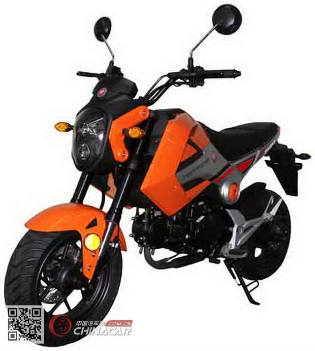 巨能jn125gy型两轮摩托车
