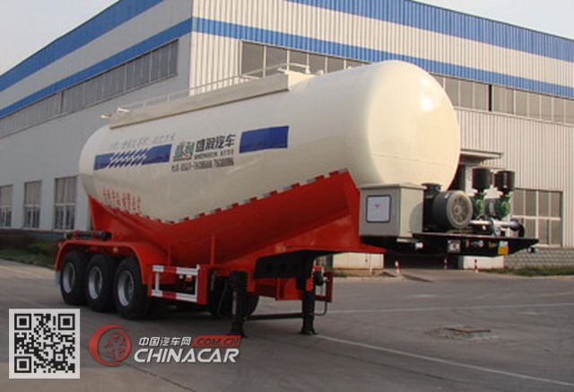 SKW9405GFLA型盛润牌中密度粉粒物料运输半挂车图片1