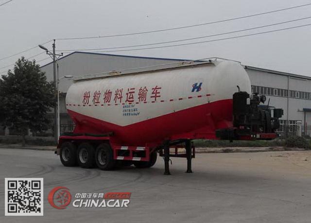 XHS9400GFL型中基华烁牌低密度粉粒物料运输半挂车图片1