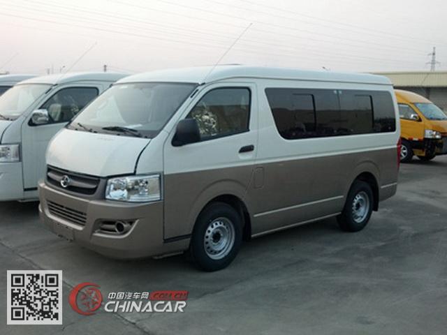 HKL6480CE型大马牌轻型客车图片2