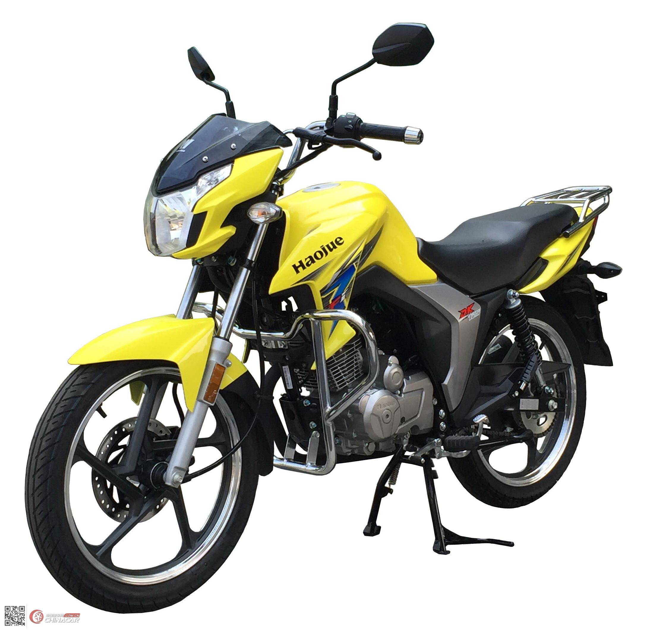 豪爵牌hj125-30c型两轮摩托车图片