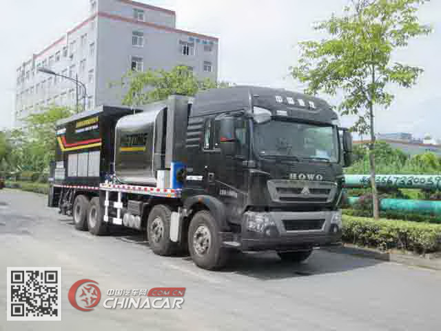 LMT5318TFCW型浙通牌纤维同步封层车图片1
