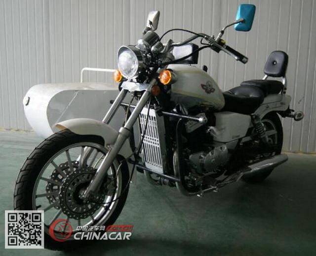 DD350B型大地鹰王牌边三轮摩托车图片1