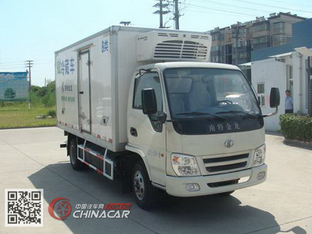 金龙牌NJT5042XLCBEV型纯电动冷藏车图片1
