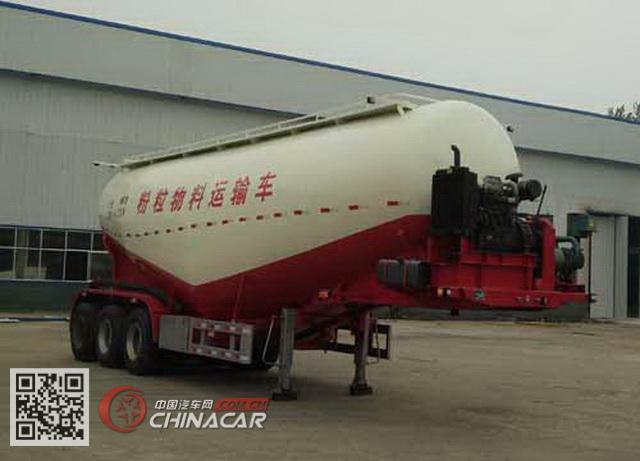 WZB9400GFL型威正百业牌中密度粉粒物料运输半挂车图片1
