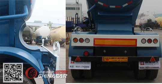 CTY9406GFL型通亚达牌粉粒物料运输半挂车图片4