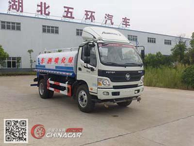 华通牌HCQ5085GSSBJ5型洒水车图片