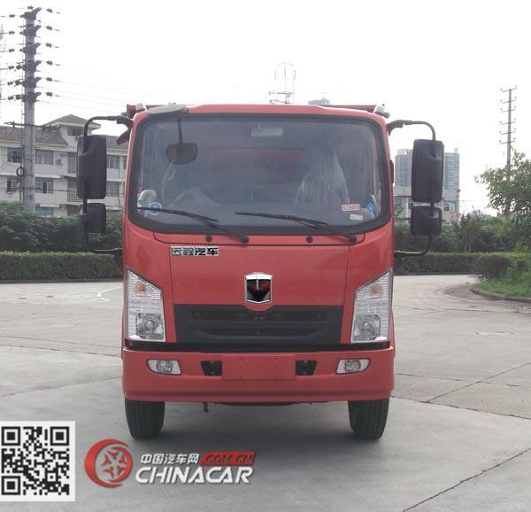 DNC5070XXYBEV01型嘉龙牌纯电动厢式运输车图片3