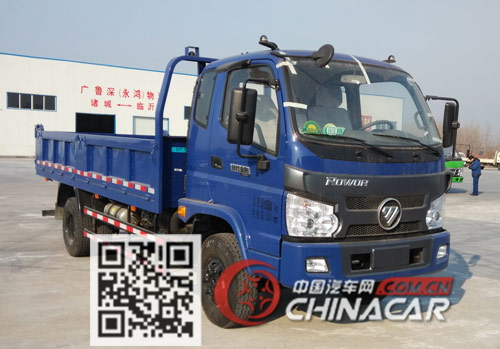 BJ3103DEPDA-FC型福田牌自卸汽车图片1