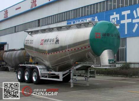 CTY9400GFLTL36型通亚达牌铝合金中密度粉粒物料运输半挂车图片1