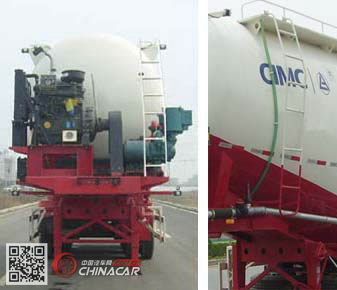 CLY9401GFL1型凌宇牌中密度粉粒物料运输半挂车图片4