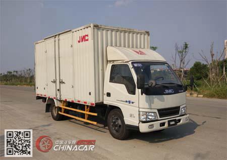 JX5044XXYXGT2型江铃牌厢式运输车图片1