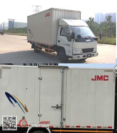 JX5044XXYXGT2型江铃牌厢式运输车图片2