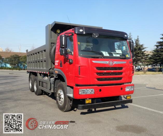 CA3251P2K2L4T1E5A80-1型解放牌平头柴油自卸汽车图片1